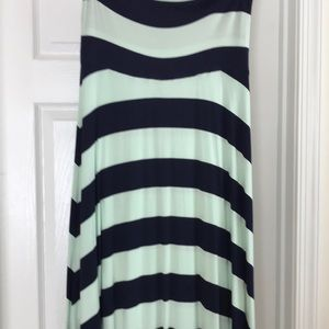 Stripe maxi skirt/dress